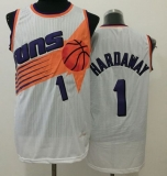 Phoenix Suns #1 Penny Hardaway White Throwback Stitched NBA Jersey