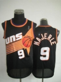 Phoenix Suns #9 Dan Majerle Black Throwback Stitched NBA Jersey