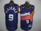 Phoenix Suns #9 Dan Majerle Throwback Purple Stitched NBA Jersey
