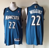 Revolution 30 Minnesota Timberwolves #22 Andrew Wiggins Blue Stitched NBA Jersey