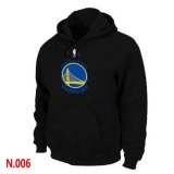 NBA Golden State Warriors Pullover Hoodie Black
