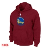 NBA Golden State Warriors Pullover Hoodie Red