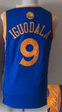 Revolution 30 Autographed Golden State Warriors #9 Andre Iguodala Blue Stitched NBA Jersey