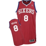 Philadelphia 76ers #8 Jahlil Okafor Red Stitched NBA Jersey