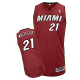 Miami Heat #21 Hassan Whiteside Black Stitched NBA Jerseys