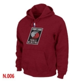 NBA Portland Trail Blazers Pullover Hoodie Red