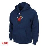 NBA Miami Heat Pullover Hoodie Dark Blue
