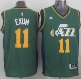 Revolution 30 Utah Jazz #11 Dante Exum Green Stitched NBA Jersey