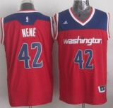 Revolution 30 Washington Wizards #42 Nene Red Stitched NBA Jersey