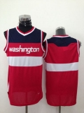 Revolution 30 Washington Wizards Blank Red Stitched NBA Jersey