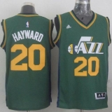 Revolution 30 Utah Jazz #20 Gordon Hayward Green Stitched NBA Jersey