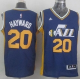 Revolution 30 Utah Jazz #20 Gordon Hayward Navy Blue Stitched NBA Jersey