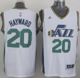 Revolution 30 Utah Jazz #20 Gordon Hayward White Stitched NBA Jersey