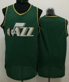 Revolution 30 Utah Jazz Blank Green Stitched NBA Jersey
