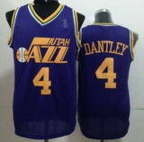 Utah Jazz #4 Adrian Dantley Purple Throwback Stitched NBA Jersey