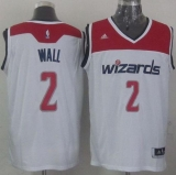 Washington Wizards #2 John Wall White 2012 Revolution 30 Stitched NBA Jersey