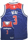 Washington Wizards #3 Bradley Beal Navy Blue Alternate Stitched NBA Jersey