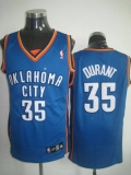 Oklahoma City Thunder #35 Kevin Durant Stitched Blue NBA Jersey