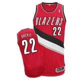 Revolution 30 Portland Trail Blazers #22 Clyde Drexler Red Stitched NBA Jersey