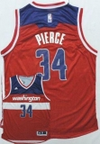 Washington Wizards #34 Paul Pierce New Red Road Stitched NBA Jersey