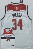 Washington Wizards #34 Paul Pierce New White Home Stitched NBA Jersey