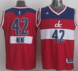 Washington Wizards #42 Nene Red 2014-15 Christmas Day Stitched NBA Jersey