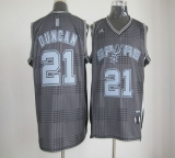San Antonio Spurs #21 Tim Duncan Black Rhythm Fashion Stitched NBA Jersey