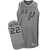 San Antonio Spurs #22 Tiago Splitter Grey Alternate Stitched NBA Jersey