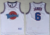 Space Jam Tune Squad #6 James White Stitched Basketball Jersey