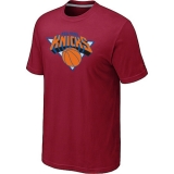 New York Knicks Big & Tall Primary Logo Red T-Shirt