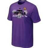 Oklahoma City Thunder adidas 2012 Western Conference Champions T-Shirt Purple