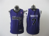 Sacramento Kings #7 Jimmer Fredette Purple Stitched Youth NBA Jersey