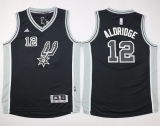 San Antonio Spurs #12 LaMarcus Aldridge Black New Road Youth Stitched NBA Jersey