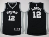 San Antonio Spurs #12 LaMarcus Aldridge Black Youth Stitched NBA Jersey