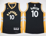 Toronto Raptors #10 DeMar DeRozan Black Youth Stitched NBA Jersey