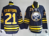 Buffalo Sabres #21 Drew Stafford Stitched Blue Third NHL Jersey