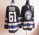 Columbus Blue Jackets #61 Rick Nash Blue Third Stitched NHL Jersey