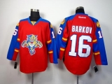 Florida Panthers #16 Aleksander Barkov Red Home Stitched NHL Jersey