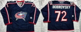 Columbus Blue Jackets #72 Sergei Bobrovsky Navy Blue Home Stitched NHL Jersey