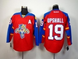 Florida Panthers #19 Scottie Upshall Red Home Stitched NHL Jersey