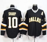 Dallas Stars #10 Patrick Sharp Black Stitched NHL Jersey
