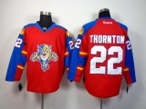 Florida Panthers #22 Shawn Thornton Red Home Stitched NHL Jersey