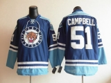 Florida Panthers #51 Brian Campbell Blue Third Stitched NHL Jersey