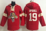 Panthers #19 Scottie Upshall Red Pullover NHL Hoodie