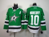 Dallas Stars #10 Shawn Horcoff Green Stitched NHL Jersey