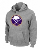 NHL Buffalo Sabres Big & Tall Logo Pullover Hoodie Grey