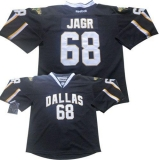 Dallas Stars #68 Jaromir Jagr Stitched Black NHL Jersey