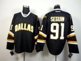 Dallas Stars #91 Tyler Seguin Black Stitched NHL Jersey