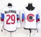 Colorado Avalanche #29 Nathan MacKinnon White 2016 Stadium Series Stitched NHL Jersey