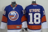 New York Islanders #18 Ryan Strome Baby Blue Stitched NHL Jersey
